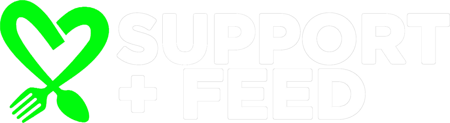 Support and feed logo